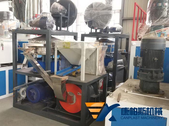 PVC milling machine